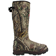 lacrosse rubber hunting boots lacrosse mens 4xburly 1200g hunting boot