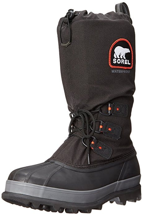 best cold weather hunting boots sorel-mens-bear-extreme-snow-boot