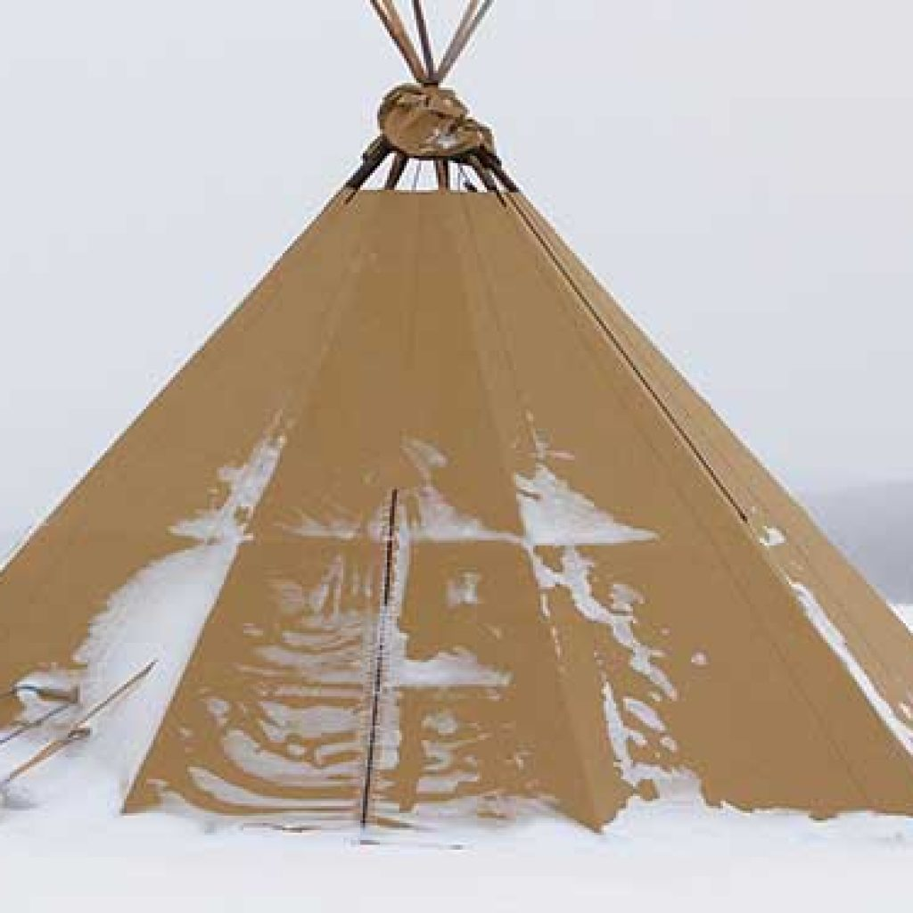 Nine Tips On How To Keep A Tent Warm In Cold Weather
