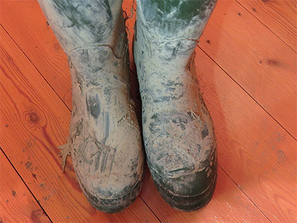 Hunter boots cleaning tips